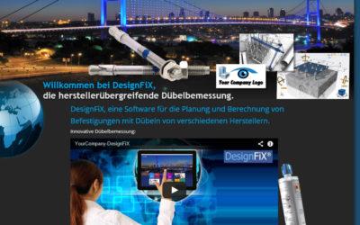 DesignFiX neue Homepage